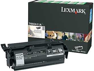 T65X RETURN PROGRAM PRINT CARTRIDGE TONER